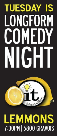 Improv Comedy Night @ Lemmons (The Improv Trick)