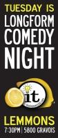 Improv Comedy Night @ Lemmons (The Improv Trick)