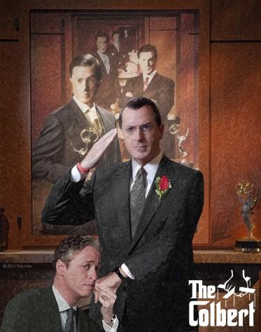 """The Colbert"" Photoshop Manipulation (The Colbert Report)"