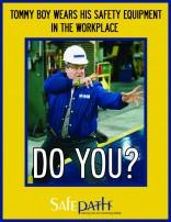 Tommy Boy Safety Poster