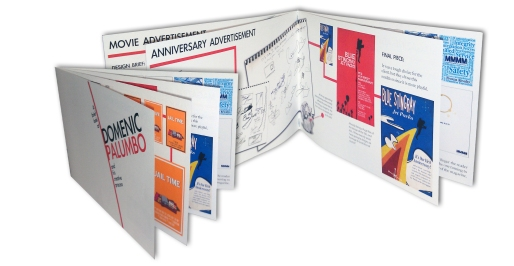 """Domenic Palumbo's Creative Process"" Booklet"