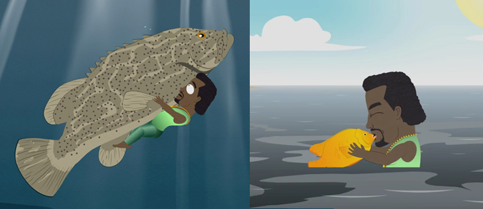 Fish are perverts. Just ask Kanye...