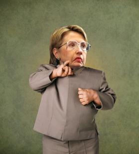 Hillary Clinton Photo Manipulation (Pauly Shore's PAULY~TICS)