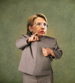 Hillary Clinton Photo Manipulation (Pauly Shore's PAULY~TICS)