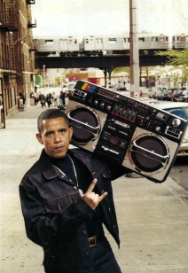Obama Photo Manipulation (Pauly Shore's PAULY~TICS)