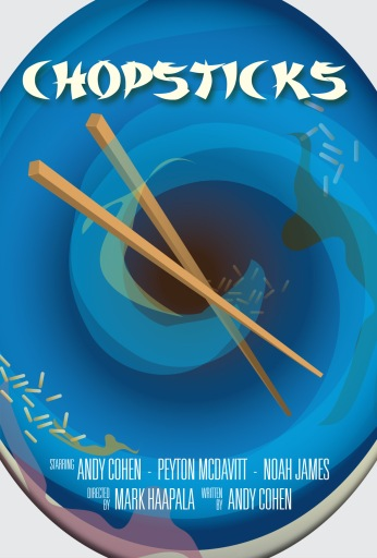 """Chopsticks"" Key Art (Funny or Die)"