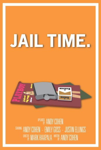 """Jail Time"" Key Art (Funny or Die)"