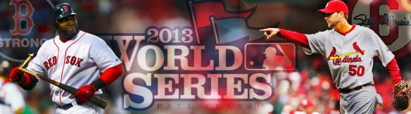 2013 World Series Banner