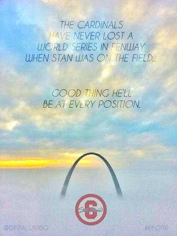 Stan Musial Memorial Poster - World Series '13