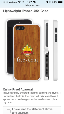 free.dom creative on your phone!