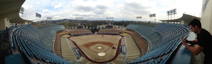 Dodger Stadium - Post Hockey Game